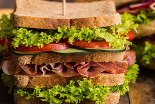 Turkey Cheese Sandwich