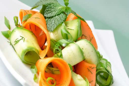 Cucumber Carrot Salad