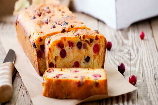 Cranberry Pumpkin Cake