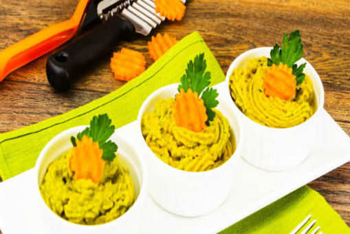 Carrot and Kale Puree