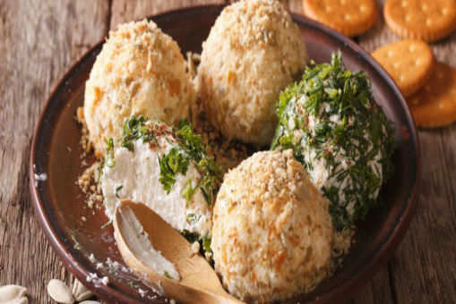 Loaded Cheese Balls