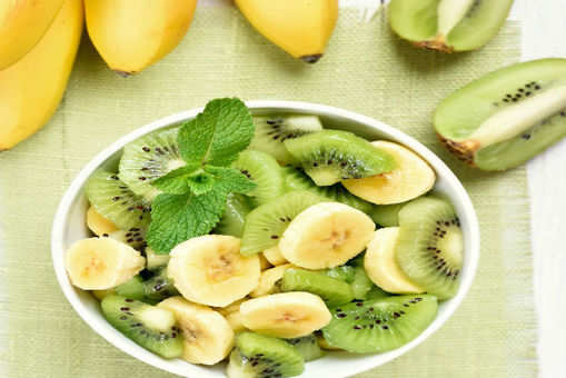 Kiwi and Banana Salad