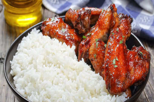 Chicken Thighs with Rice