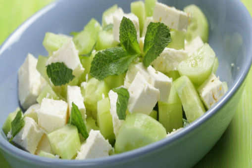 Cucumber with Mint and Feta