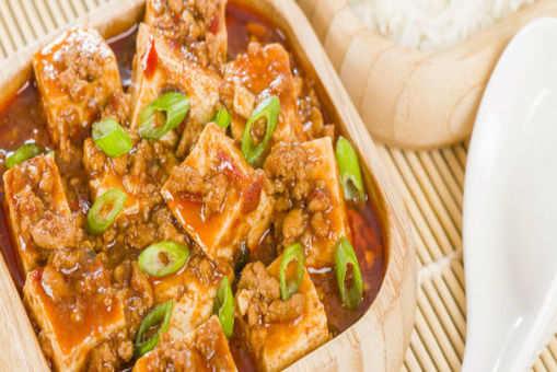Schezwan Tofu and Cauliflower