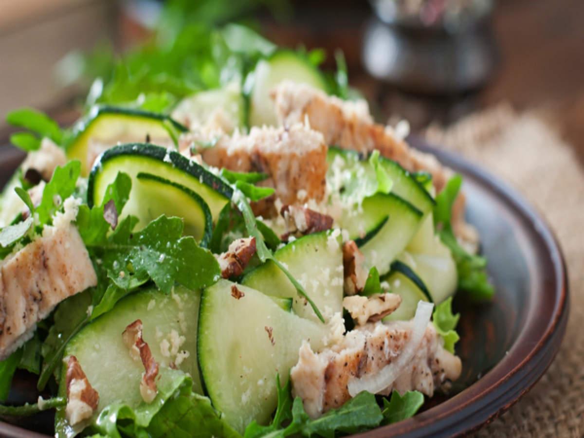 Chicken Salad Recipe With Zucchini