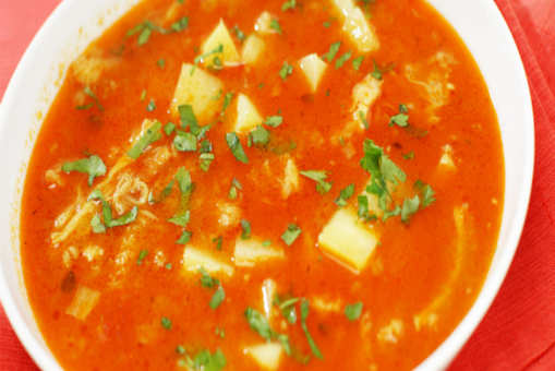 Fish Stew with Ginger and Tomatoes
