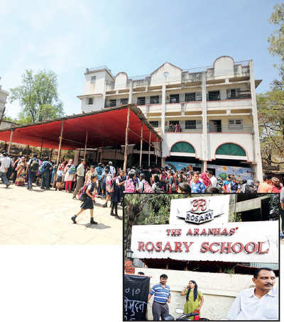Shuttling campuses for classes exhausts Rosary school pupils