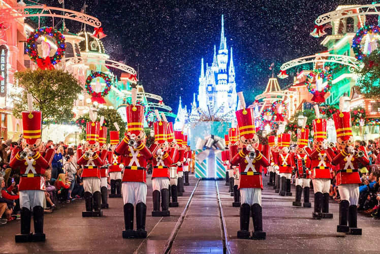 christmas at disneyland 2017 details of festive preparations revealed