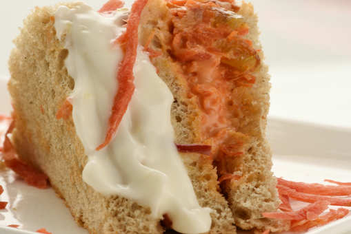 Carrot and Apple Sandwich