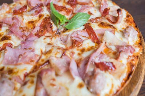 Bacon Ham Pizza