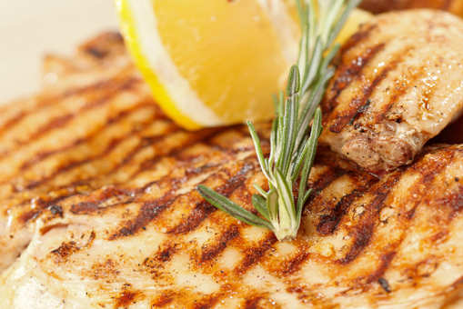 Grilled Lemon and Rosemary Chicken