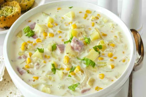 Potato and Corn Soup