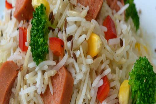 Mutton Sausage Rice Medley
