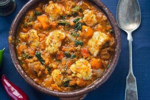 Gobi Matar Curry