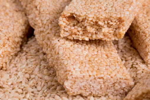 Sesame Seed Brittle