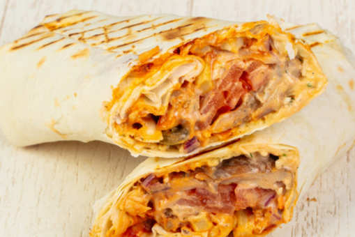 Chicken Burrito Rolls