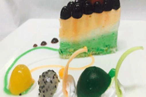 Tricolor Cheesecake