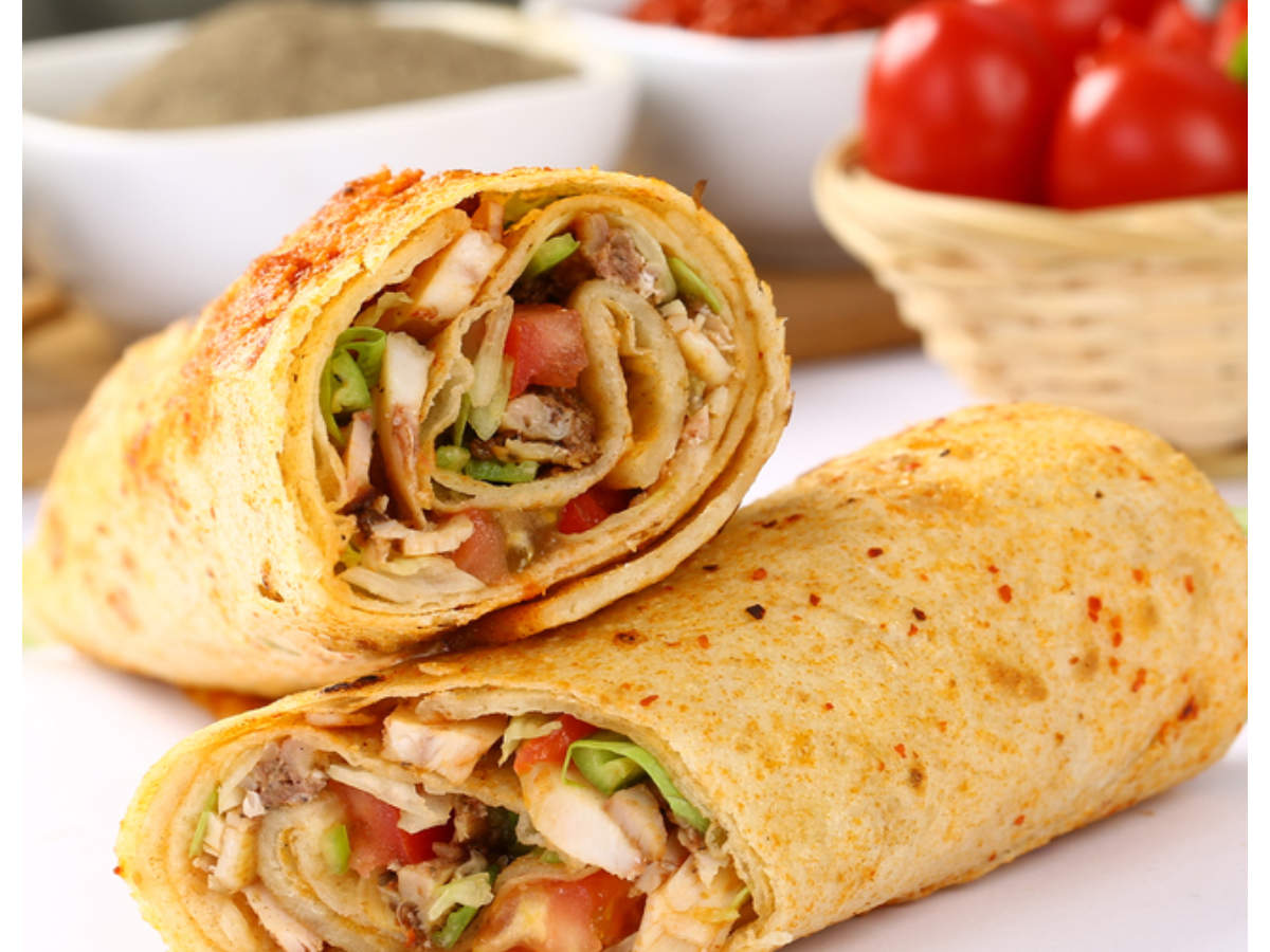 Tandoori Chicken Wraps Recipe