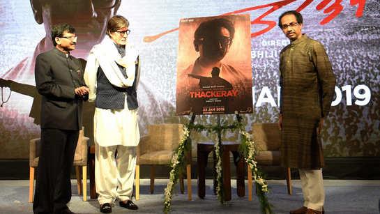 Big B recalls his bond with Balasaheb Thackeray