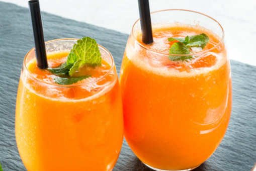 Carrot and Sweet Potato Juice