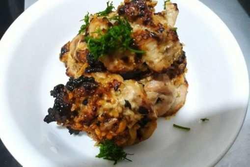 Grilled Chicken Garlic Tikka