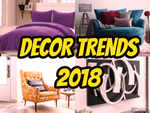 Home decor trends to look forward to in 2018