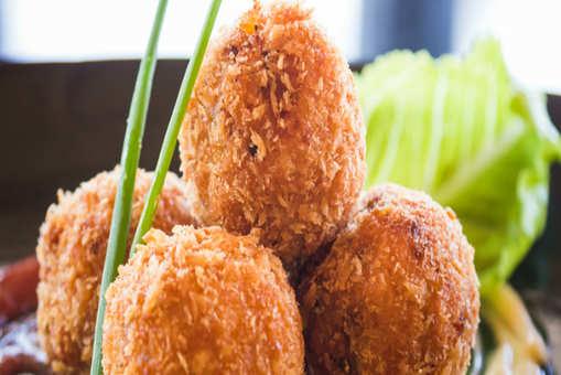 Potato and Corn Balls