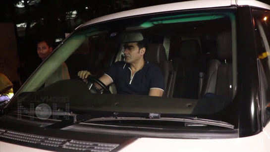 Who is this mystery girl with Arbaaz Khan?