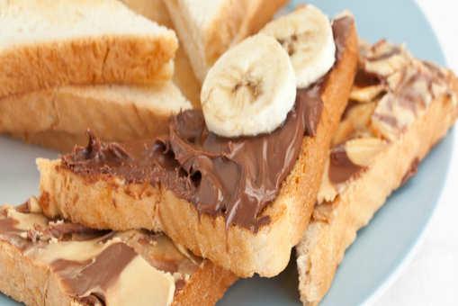 Nutella Banana Sandwich