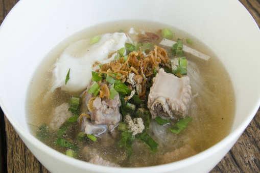 Stir Fried Pork Soup