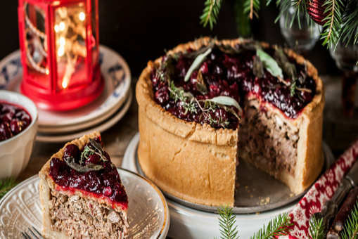 Cranberry Mince Pie