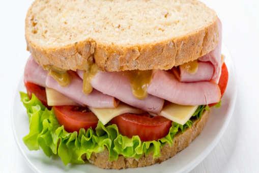 Whole Grain Mustard Sandwich