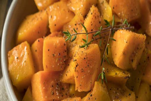Roasted Garlic Butternut Squash