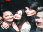 Bigg Boss 9: Prince, Yuvika, Rochelle,  Mandana reunite at VJ Anusha's birthday party