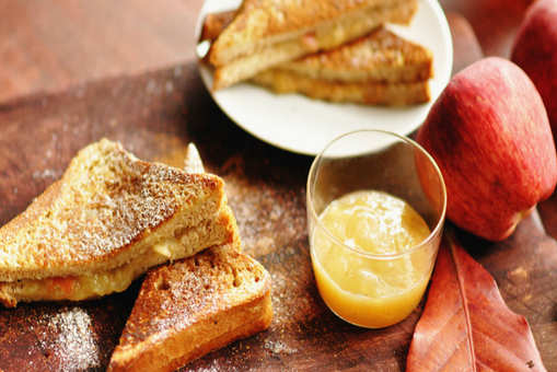 Applesauce Maple Syrup Sandwiches