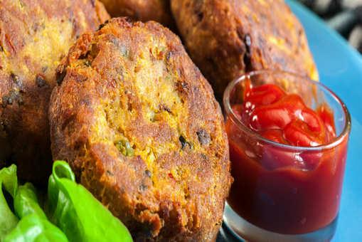 Vegetarian Malai Kebab