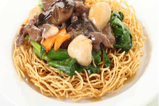 Pan Fried Noodles with Vegetables