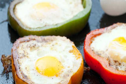 Pepper Ring Fried Egg