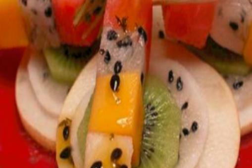 Fresh Fruit Satay