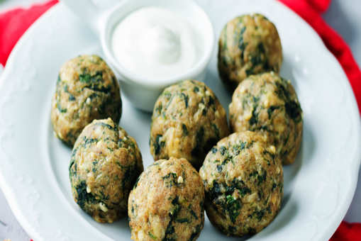 Spinach and Sweet Potato Bombs