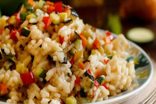 Mix Vegetable Risotto