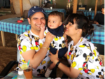 Yeh Rishta Kya Kehlata Hai fame Karan Mehra, wife Nisha Rawal's trip with their baby boy is so cute, Check Out​