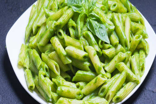 Spinach and Basil Pasta