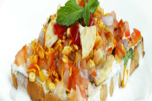 Bread Papdi Chaat