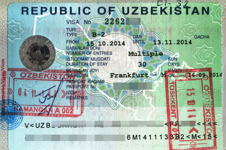 Easy to get uzbekistan visa uzbekistan visa rules are now easier previously a handful of soviet states were allowed to travel visa free such as russia and kyrgyzstan and getting into uzbekistan used to be difficult stopboris Image collections