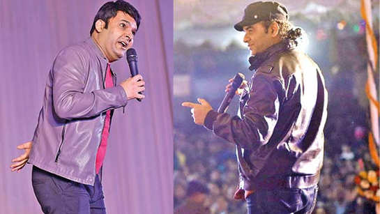 Kapil Sharma and Mohit Chauhan's day out with the SSB jawans
