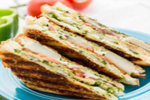 Bombay Veggie Grilled Cheese Sandwich