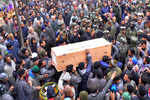 Funeral of Armymen killed in J&K