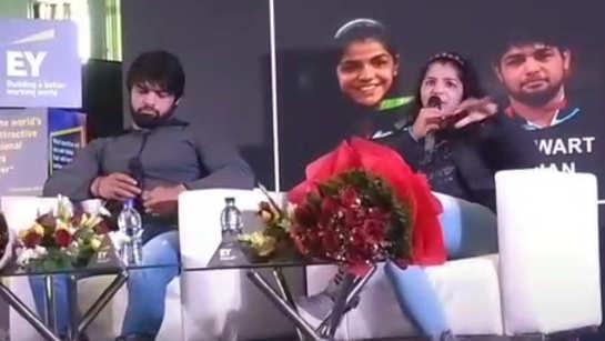 Sakshi Malik talks about changing mindset towards female wrestling
